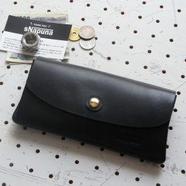蛇腹ロングウォレットlw001商品画像000:蛇腹のロングウォレットです。仕様は(奥から)札入れ×1 ファスナー小銭入れ×1 レシート、領収書入れ×1 カード入れ×2 オープンカード入れ×1