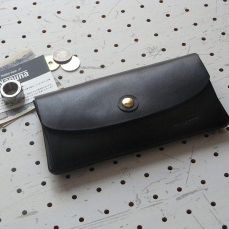 蛇腹ロングウォレットlw001商品画像001:表側から見た画像です。