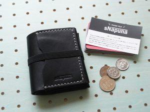 スナップミニウォレット商品画像001:スナップウォレットの「スナップ」は「sNapuna」の「sNap」です。