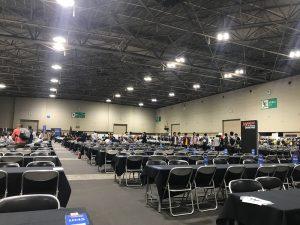 (MTG)カードゲームの大会の様子