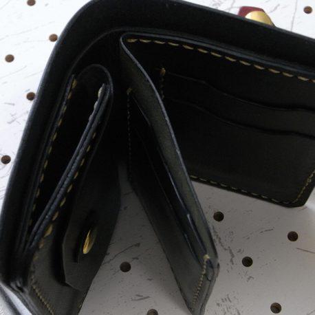 ハーフウォレットhw002-007商品画像:上から見た画像です。