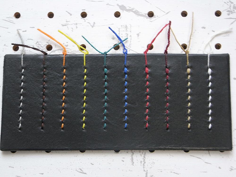 縫い糸色見本
