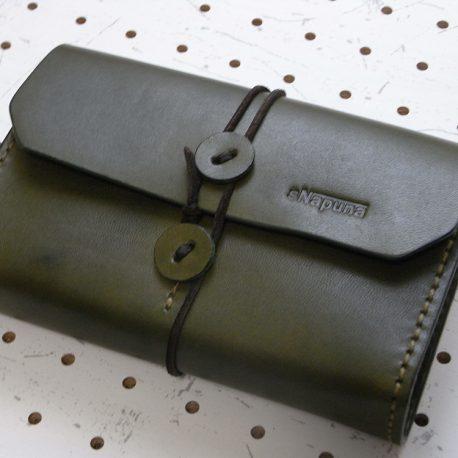 デッキケース商品画像mg000:モスグリーンのデッキケースです。