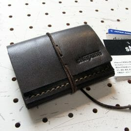 ミニマムウォレット商品画像000:とことん小型を追求した財布です。