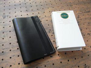 デイリーコンサイス英和・和英辞典カバー(ハンディータイプ)商品画像001:辞書本体のサイズはH158mm×W82mm×D35mmです。