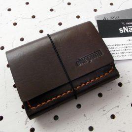 ミニマムウォレット003(ゴム紐)商品画像000:限界まで小さくした財布です。