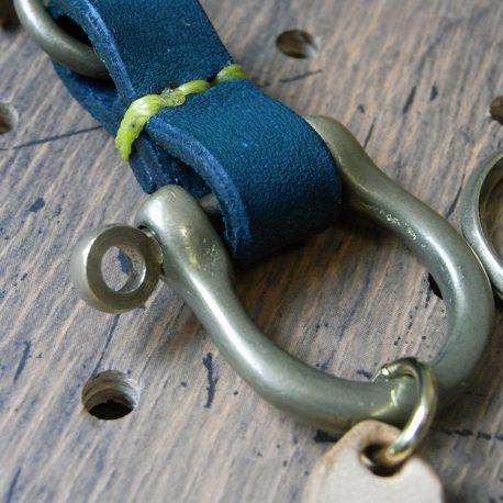 真鍮シャックルキーホルダー商品画像006:シャックル部分の拡大画像です。
