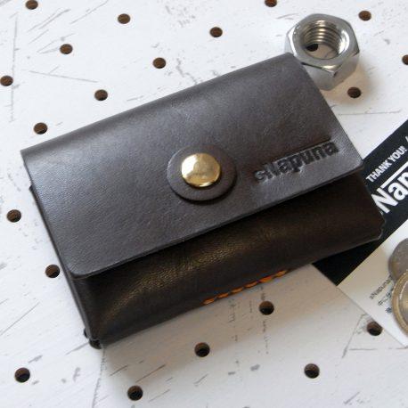 キャッシュレス財布(ボタン仕様)商品画像000:カードの使いやすさに拘った小さい財布です