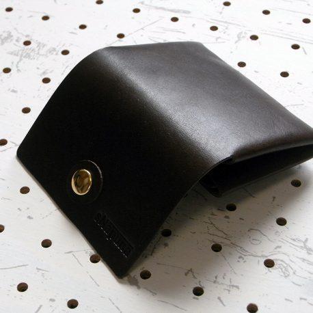 キャッシュレス財布(ボタン仕様)商品画像006:開けて外面の画像です。