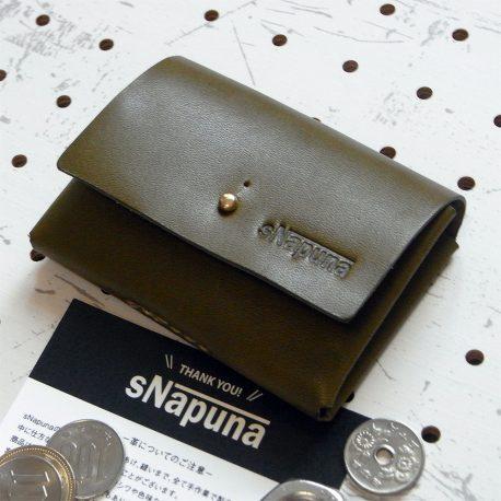 キャッシュレス財布(ギボシ留め)商品画像000:小ささに拘った財布です
