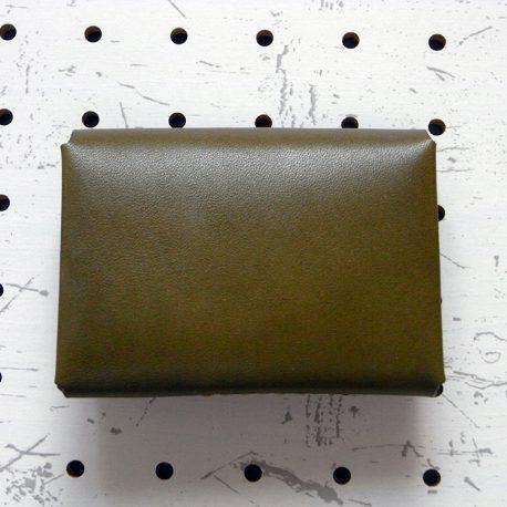 キャッシュレス財布(ギボシ留め)商品画像003:裏面から見た画像です