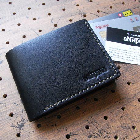 シンプルウォレット(札カード入れ)商品画像001:札入れとカード収納×2のシンプルな財布です。