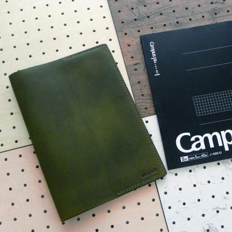 B5ノートカバー(セミB5・6号)商品画像000:シンプルなB5ノートカバーです。