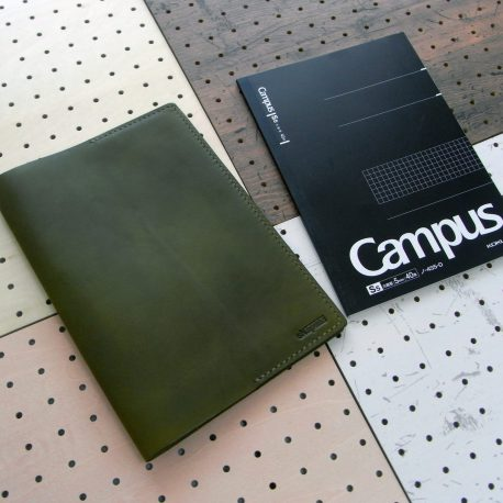 B5ノートカバー(セミB5・6号)商品画像001:定番のセミB5サイズのノートカバーです。
