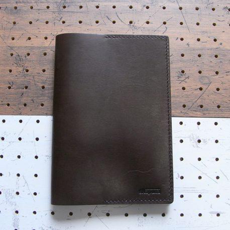 A5ノートカバー商品画像012:ダークブラウン