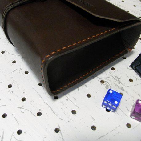デッキケースXL(ローダー対応&50mm厚収納対応)商品画像004:側面は箱型に縫い合わせています