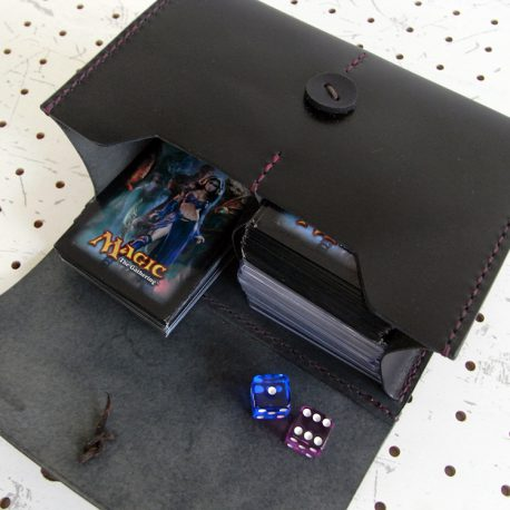 デッキケースXXL(ローダー対応&65mm厚収納対応)商品画像010:両方の収納に入れた時のイメージです