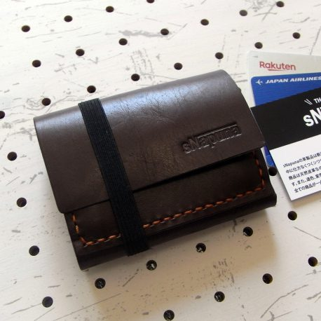 ミニマムウォレット002(ゴムバンド)商品画像000:限界まで小さくした財布です。