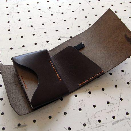 ミニマムウォレット002(ゴムバンド)商品画像004:展開して中面の画像です
