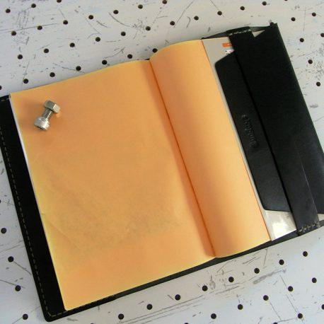 四六判ブックカバー(188×128mm※フリーサイズ)商品画像008:裏表紙側のイメージです