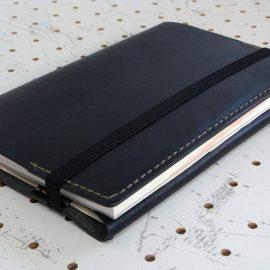 四六判ブックカバー(188×128mm※フリーサイズ)商品画像010:収納後の表紙側の画像です