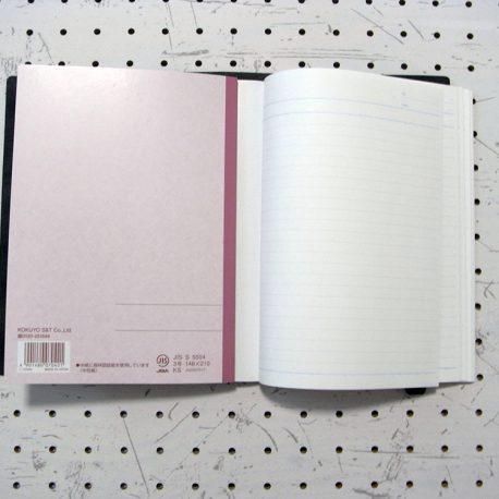 A5シンプルノートカバー商品画像006:写真のように重ねれば複数のノートを収納できます。